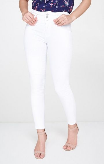 AND | White Jeggings