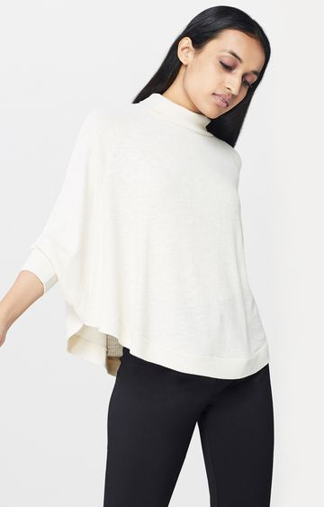 AND | Beige Solid Top