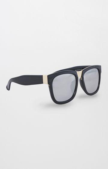 AND   Black Square Sunglasses