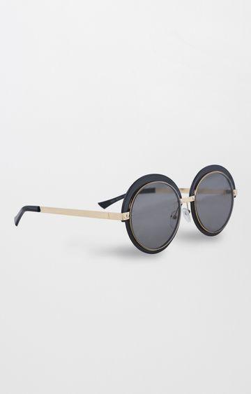 AND | Black Round Sunglasses