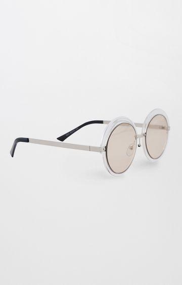 AND | Transparent Round Sunglasses