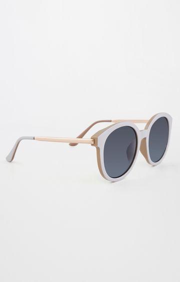 AND | White Oversized Sunglasses