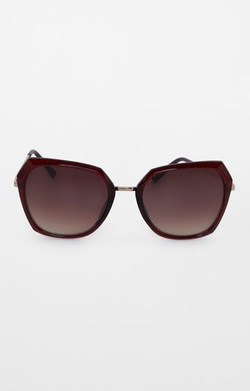 AND | Brown Oversized Sunglasses