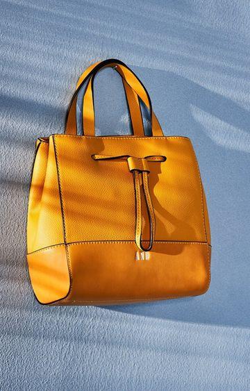 AND | Mustard Handbag