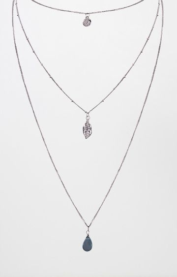 AND | Silver Layered Necklace
