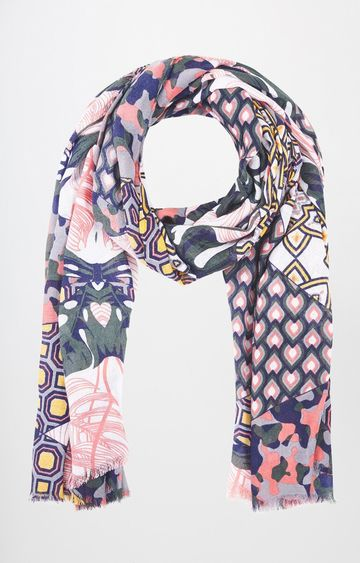 AND   Multicoloured Printed Stole