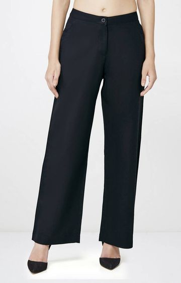 AND | Black Flared Trousers