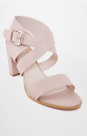 AND | Pink Block Heels