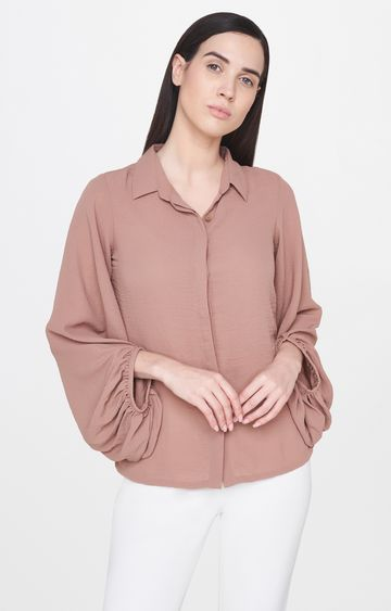 AND | Light Brown Solid Top