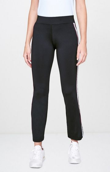 AND | Black Solid Trackpants