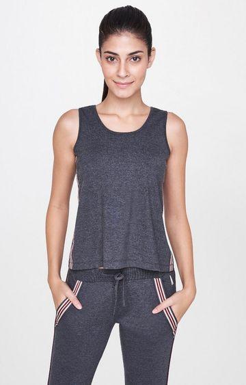 AND   Black Melange T-Shirt