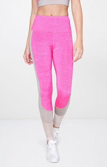 AND | Pink Melange Tights