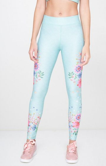 AND | Aqua Printed Tights