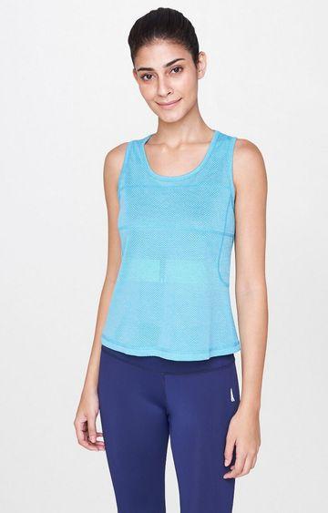 AND   Aqua Solid T-Shirt