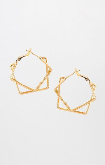 AND | Gold Hoops