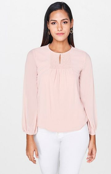 AND | Blush Solid Top