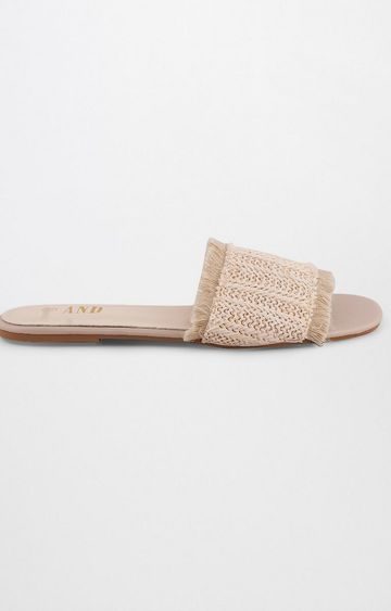 AND | Beige Slip-ons