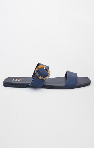 AND | Navy Sandals