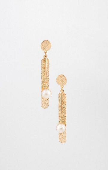 AND   Gold Dangle and Drop Earrings