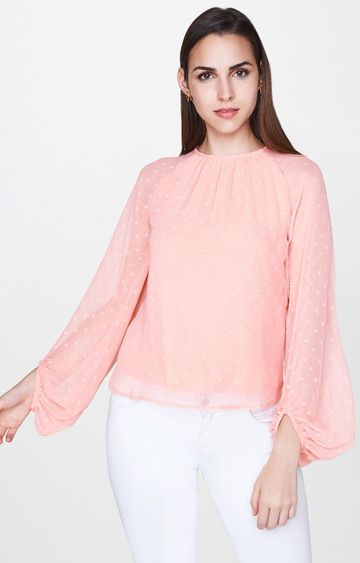 AND   Orange Solid Top