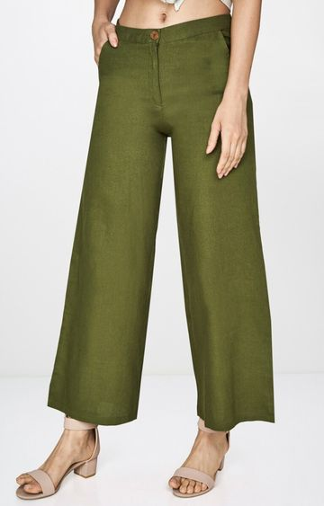 AND | Olive Straight Chinos