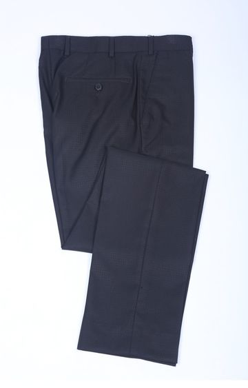 Raymond | Navy Flat Front Formal Trousers