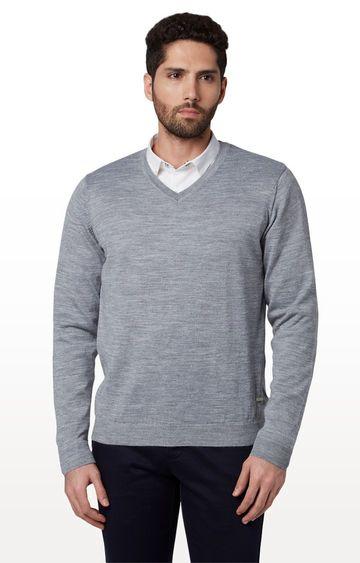 Park Avenue | Grey Melange Sweater