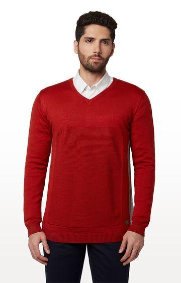 Park Avenue | Park Avenue Orange Sweater