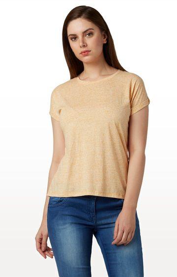 Park Avenue | Dark Orange Melange T-Shirt