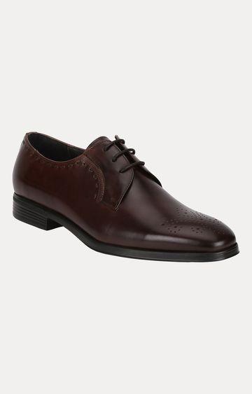 Park Avenue | Dark Brown Derby Shoes