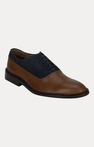 Park Avenue | Brown and Blue Oxfords