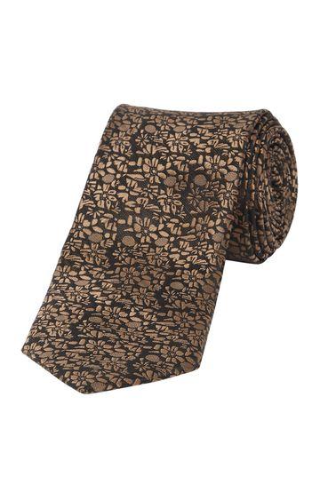 Park Avenue | Brown Printed Tie