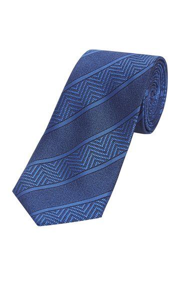 Park Avenue   Blue Striped Tie