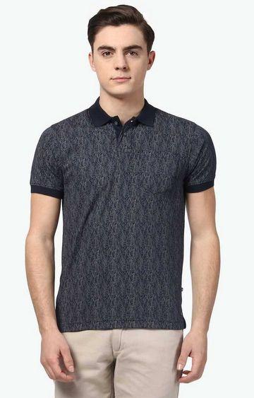 PARX | Black Printed T-Shirt