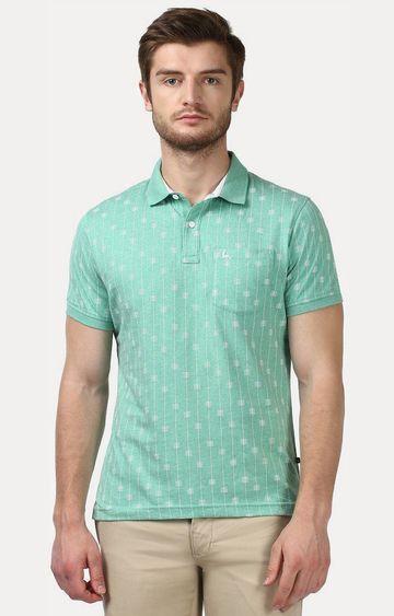 PARX | Green Printed T-Shirt