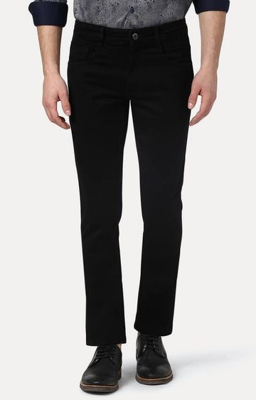 PARX | Black Straight Jeans