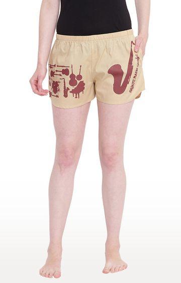 La Intimo | Fawn Printed Shorts