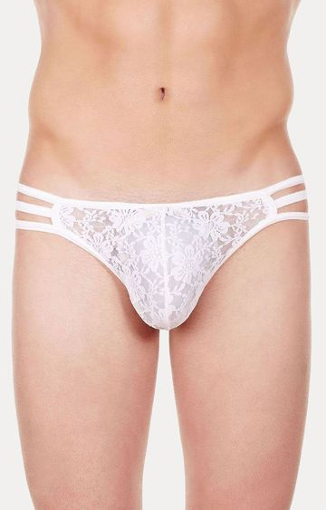 La Intimo | White Thongs