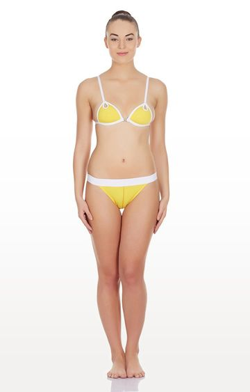 La Intimo | Yellow Max Soft Lingerie Set