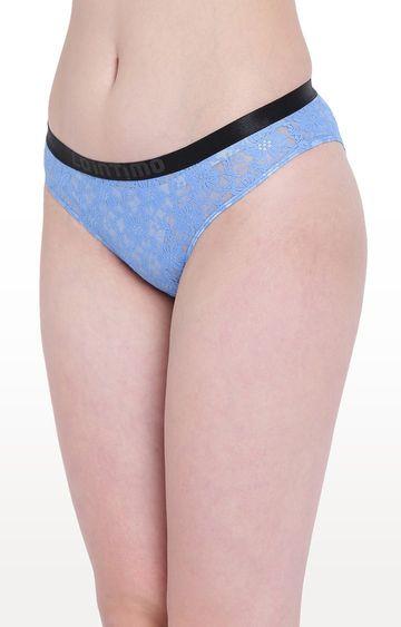 La Intimo | Blue Beach Bloom Bikini Panty