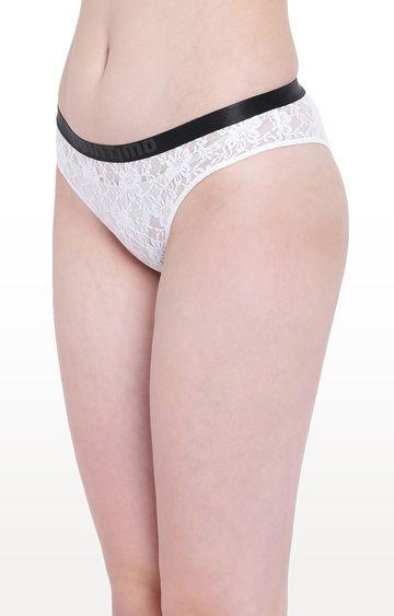 La Intimo | White Beach Bloom Bikini Panty