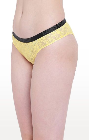 La Intimo | Yellow Beach Bloom Bikini Panty