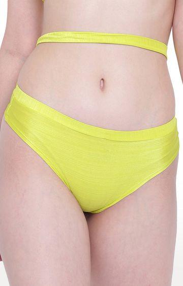 La Intimo   Yellow Beach Bold Panty