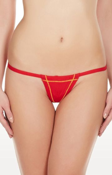 La Intimo | Red Real Feel G-String Thong