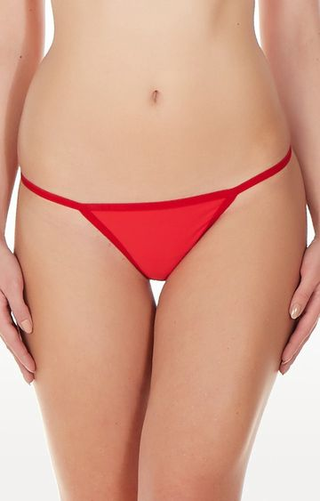 La Intimo | Red Ring G-String Thong