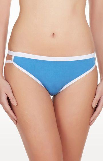 La Intimo   Blue Good Girl Go Naughty Bikini Panty
