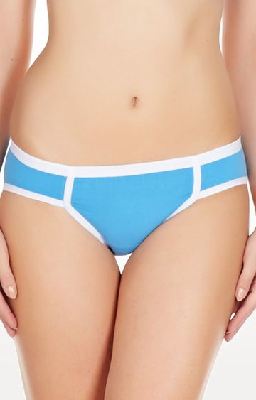 La Intimo | Blue Archaic Bikini Panty
