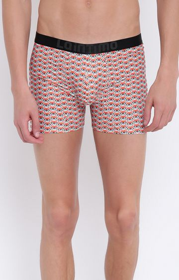 La Intimo | Orange Printed Trunks
