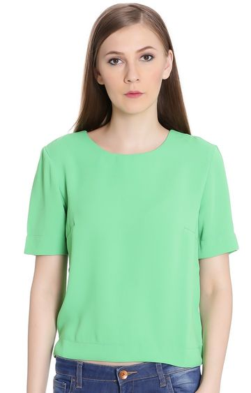 United Colors of Benetton | Kelly Green Solid Top