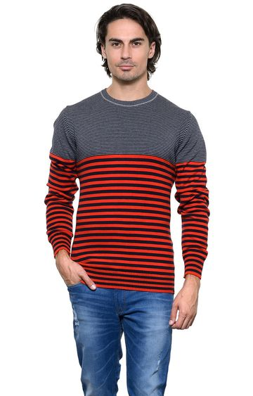 United Colors of Benetton | Red Striped Sweater